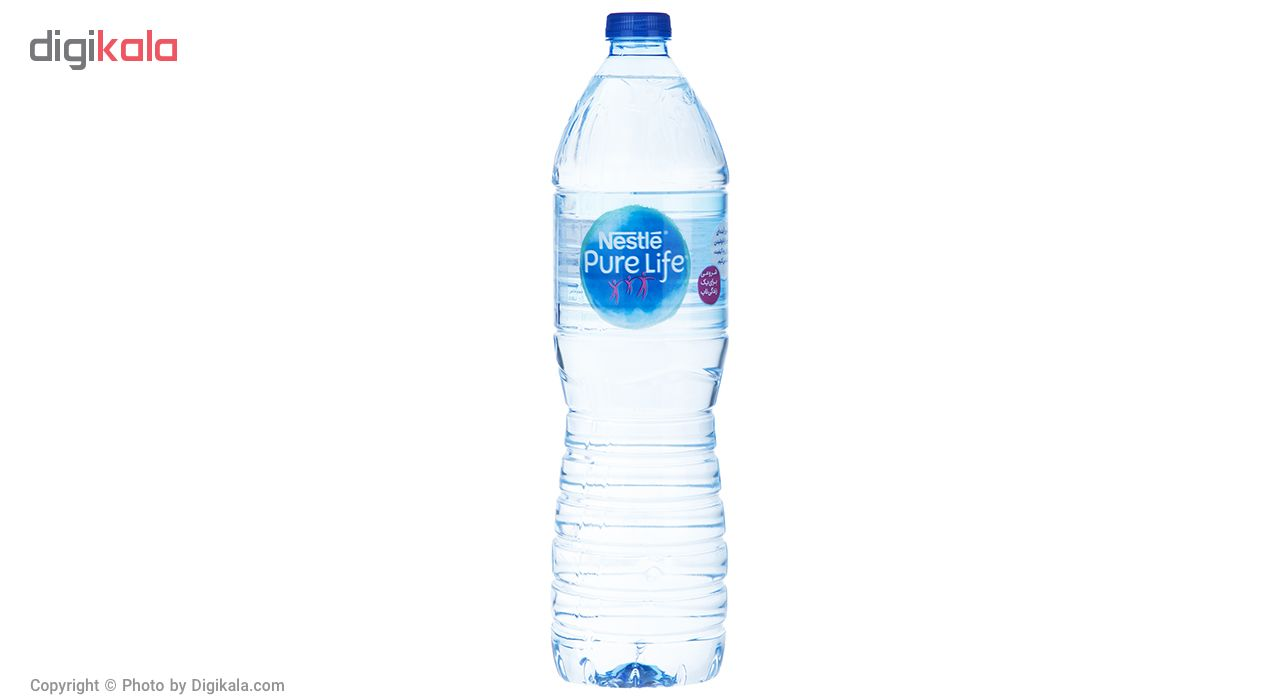 آب آشامیدنی  نستله  1.5 لیتر بسته 6 عددی