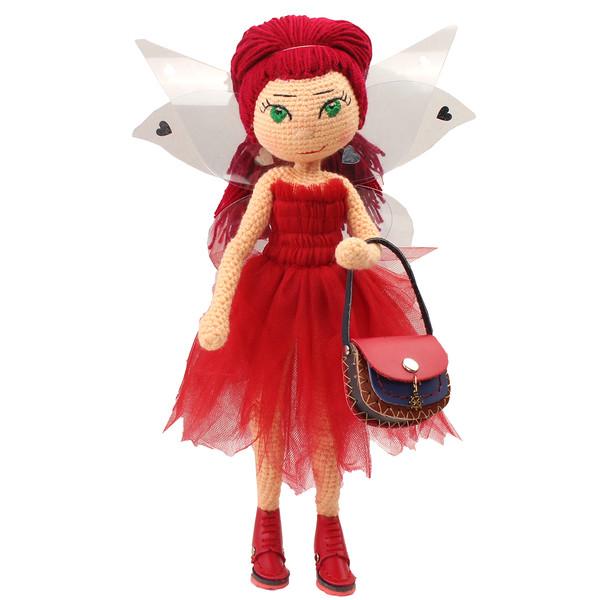 عروسک بافتنی پریا مدل Leili03