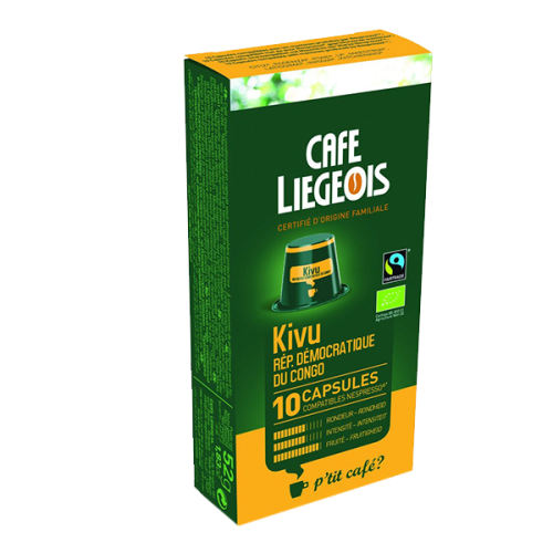 کپسول قهوه cafe liegeois مدل Kivu R.D.Congo