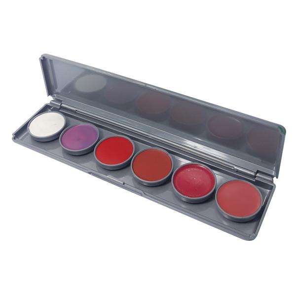 رژ لب یوتری اف مدل Lip Rouge شماره 3 پالت 6 عددی