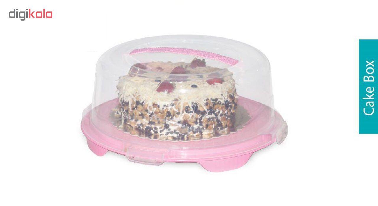 کیک خوری آسا پلاستیک مدل 420