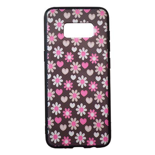 کاور طرح گل و قلب مناسب برای گوشی موبایل سامسونگ گلکسی S8