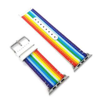 بند مدل Rainbow مناسب برای اپل واچ 42/44 میلی متری