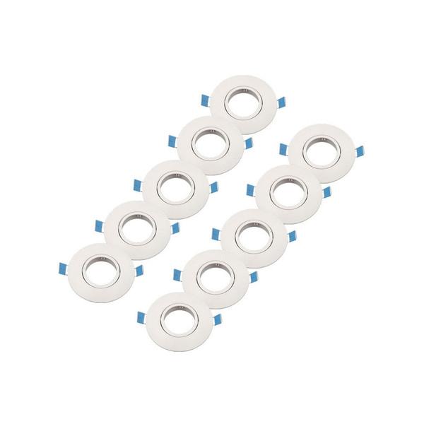 قاب هالوژن متحرک پارس کد ABS-60mm بسته 10 عددی