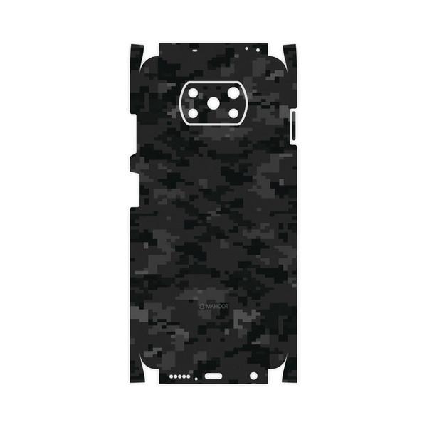 برچسب پوششی ماهوت مدل Night-Army-Pixel-FullSkin مناسب برای گوشی موبایل شیائومی Poco X3 NFC