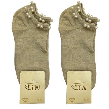 جوراب زنانه مدل MLK2-5 بسته 2 عددی