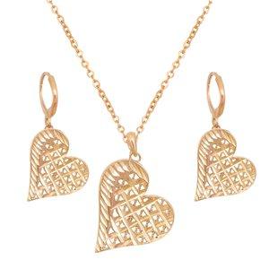 نیم ست زنانه طرح قلب کد GO1259