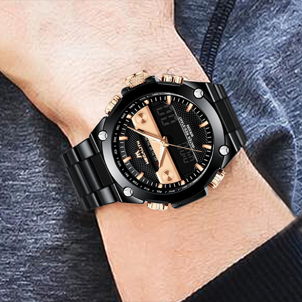 ساعت مچی عقربه ای مردانه مگالیت مدل 8005              ارزان