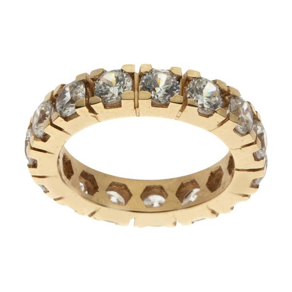 انگشتر طلا 18 عیار زنانه سنجاق مدل X062364