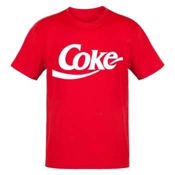 تیشرت آستین کوتاه مردانه مدل کوک coke t517