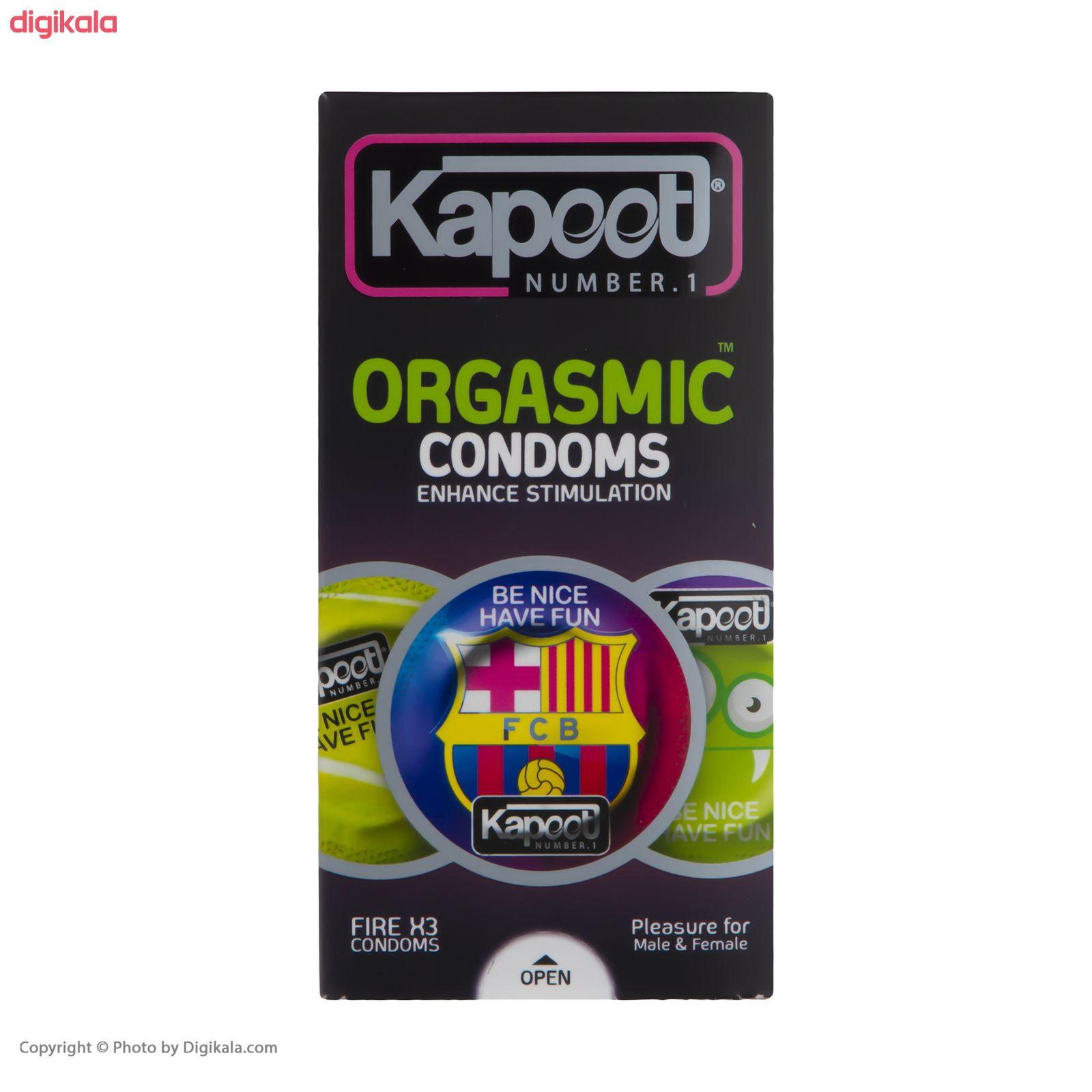 کاندوم خاردار کاپوت مدل Orgasmic بسته 12 عددی main 1 1