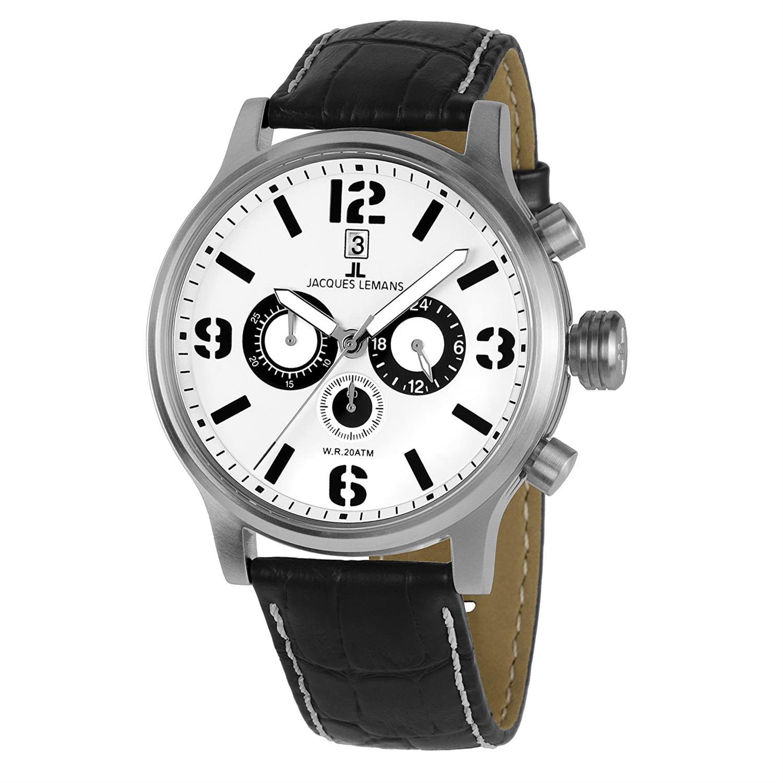 ساعت مچی عقربه ای مردانه ژاک لمن مدل 1-1794B