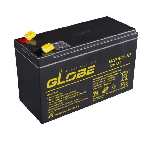 باتری 12 ولت 7 آمپر لانگ مدل گلوب WPS7-12  