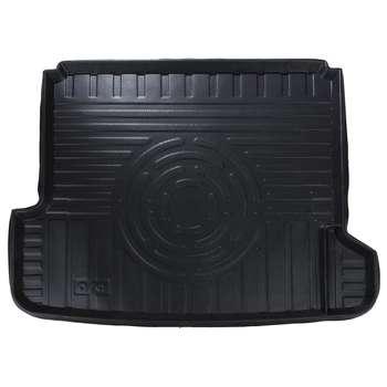 کفپوش سه بعدی صندوق خودرو آرا مدل اطلس مناسب برای پژو پارس (مشکی)
