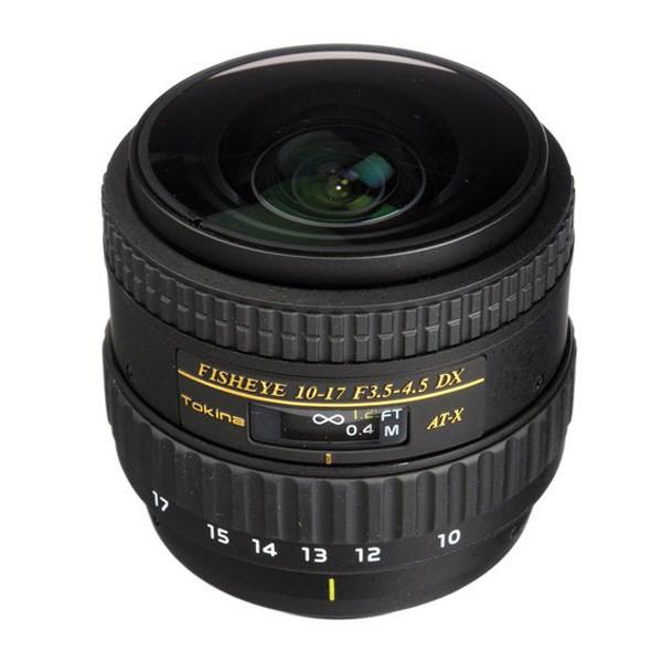 لنر توکینا 17-10 F/3.5-4.5 DX Auotofocus Fisheye For Nikon