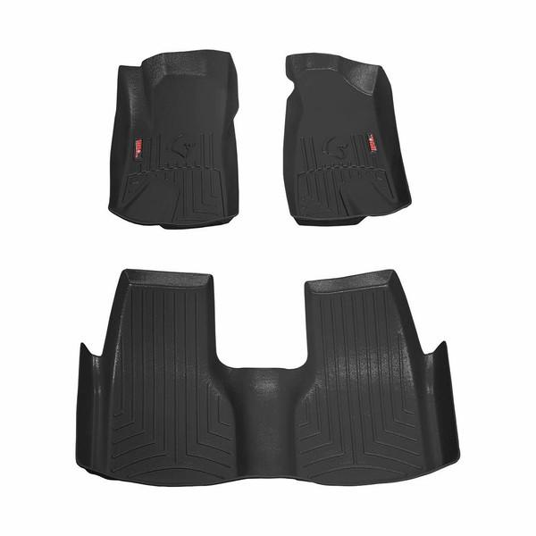 کفپوش سه بعدی خودرو سانا مدل 3تکه مناسب برای دنا