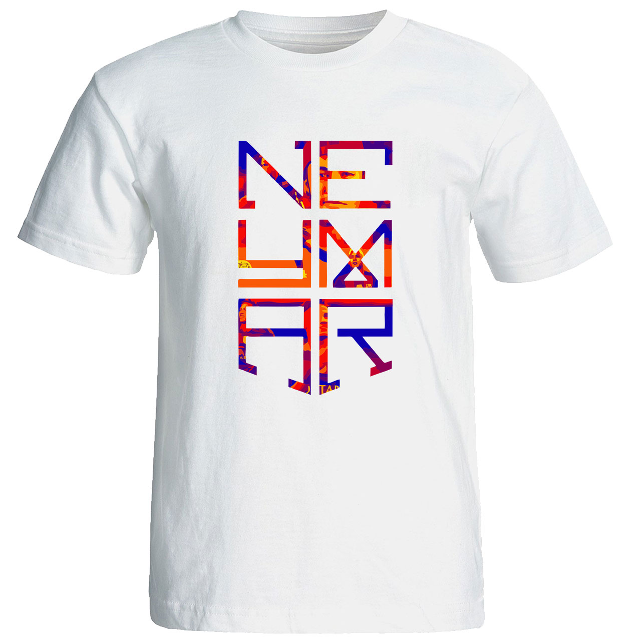 تی شرت مردانه طرح نیمار کد 6935