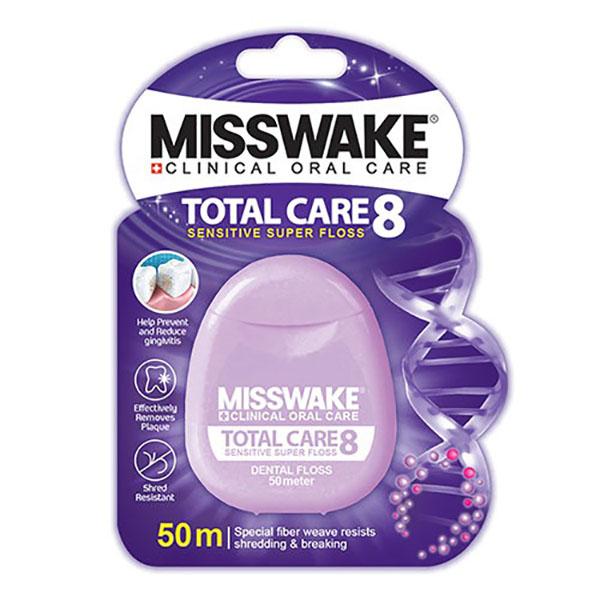 نخ دندان میسویک مدل TOTAL CARE 8
