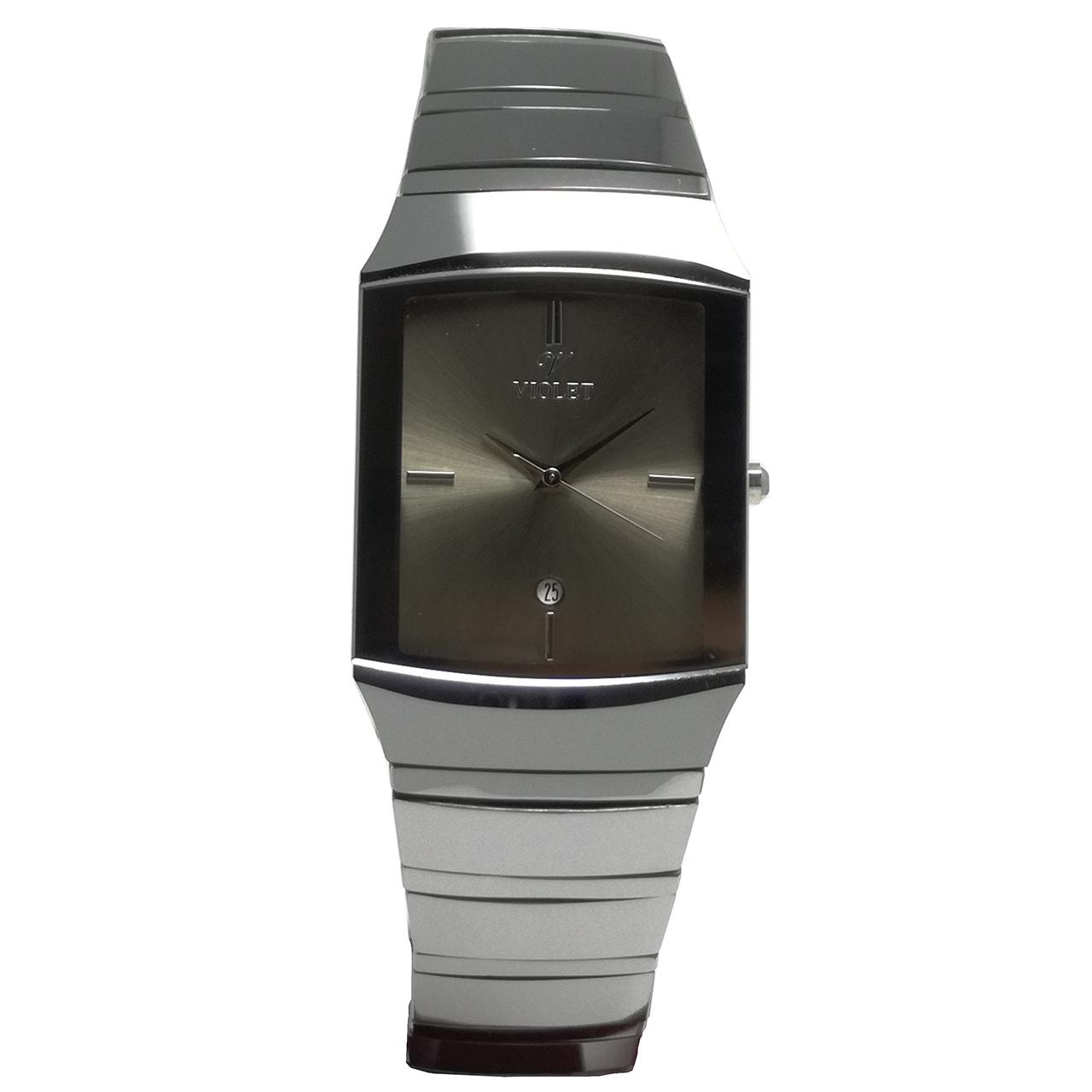 ساعت مچی عقربه ای مردانه  ویولت مدل 1716G-1METAL