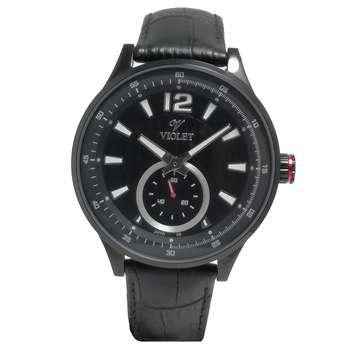 ساعت مچی عقربه ای مردانه  ویولت مدل 12375GBL-2LEATHER