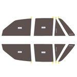 برچسب دودی شیشه خودرو مدل QUALITY USA مناسب برای خودروی پراید thumb