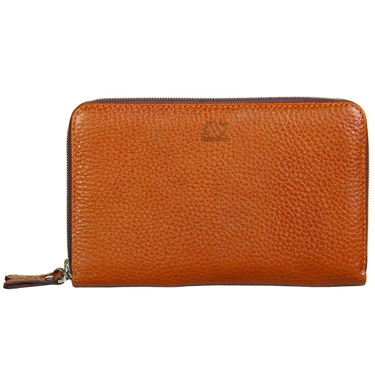 کیف دستی چرم طبیعی نیشتمان مدل 481