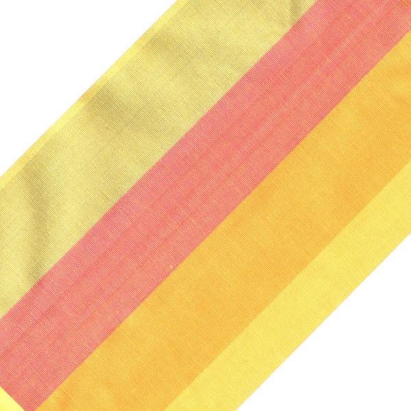 زیر بشقابی کتان 38 × 25 رزین تاژ طرح رابید صورتی