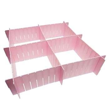 تقسیم کننده کشو مدل sunplast بسته 6 عددی