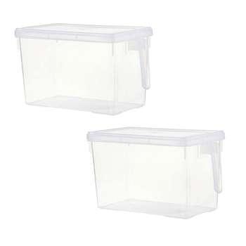 باکس نگهدارنده و نظم دهنده یخچال مدل merce بسته 2 عددی
