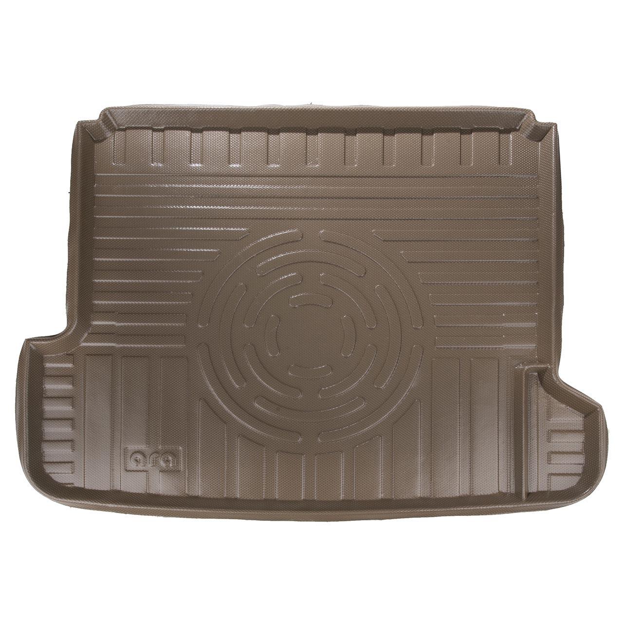 کفپوش سه بعدی صندوق خودرو آرا مدل اطلس مناسب برای پژو پارس (کرم)