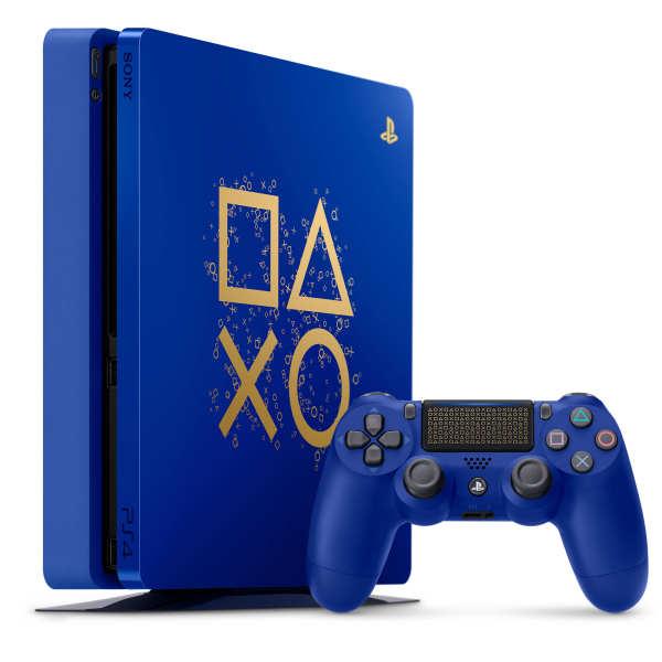 کنسول بازی سونی مدل Playstation 4 Slim کد Region 2 CUH-2116A Limited Days Of Play ظرفیت 500 گیگابایت