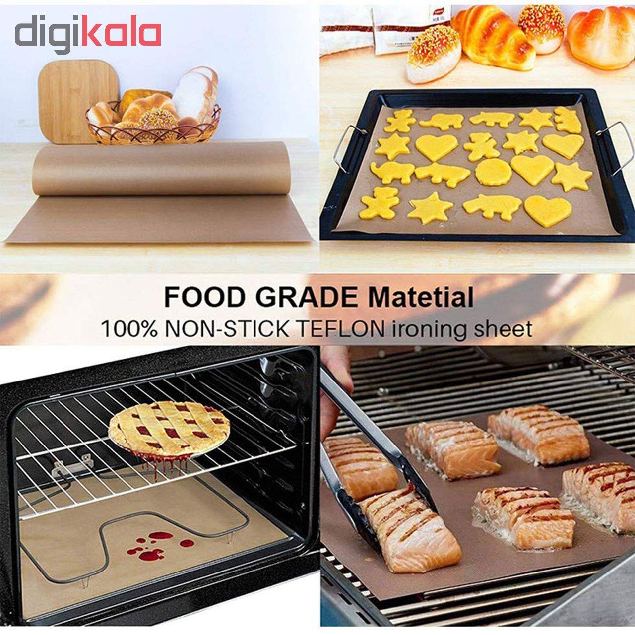 ورق نسوز آشپزی و شیرینی پزی  مدل 4060 بسته 2 عددی main 1 1