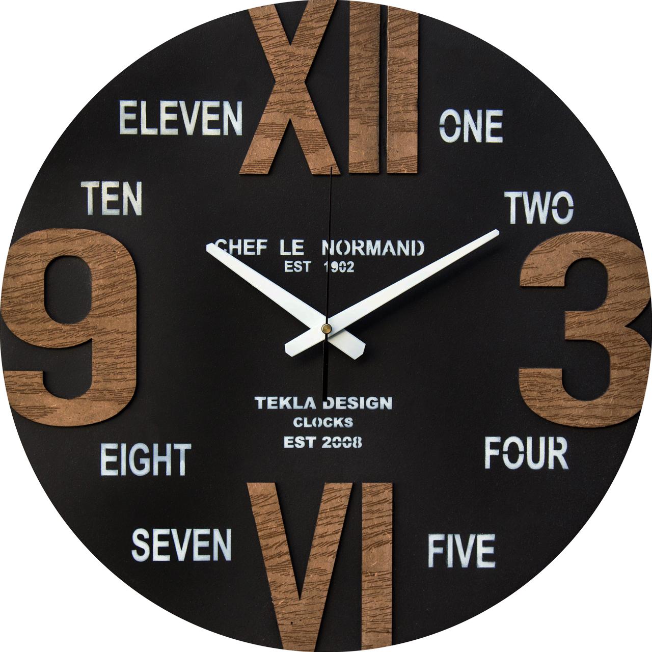 ساعت دیواری تکلادیزاین مدل TT152