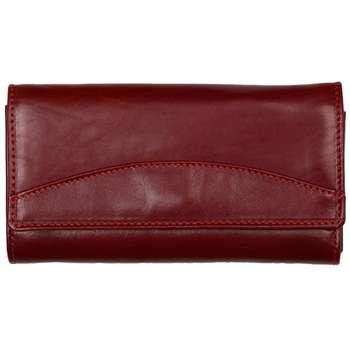 کیف پول زنانه رویال چرم کد W11-Crimson