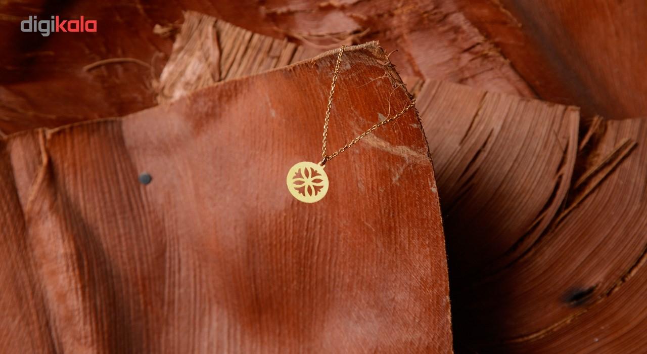 آویز ساعت طلا 18 عیار شانا مدل WSG59