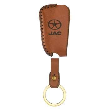 جاسوئیچی خودرو چرم طبیعی کد ct-133 مناسب برای جک J5 (عرضه کالا)