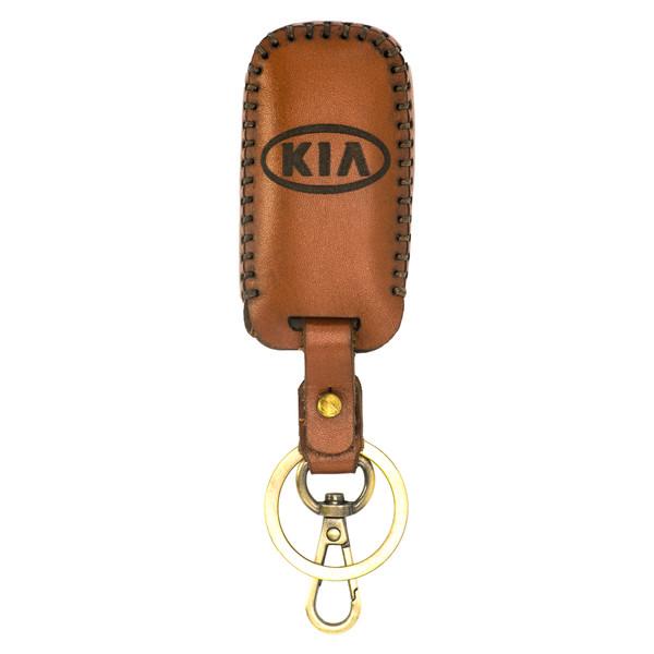 جاسوئیچی خودرو چرم طبیعی کد ct-403 مناسب برای کیا 4 کلید سراتو اپتیما اسپورتیج سورنتو (عرضه کالا)