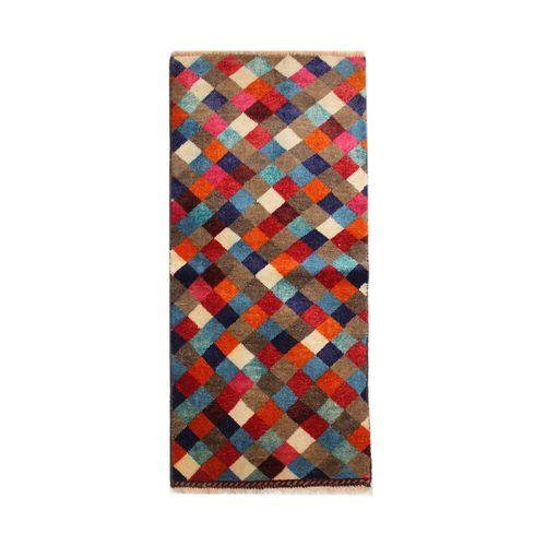 فرش دستبافت نیم متری طرح گبه کد 1104044
