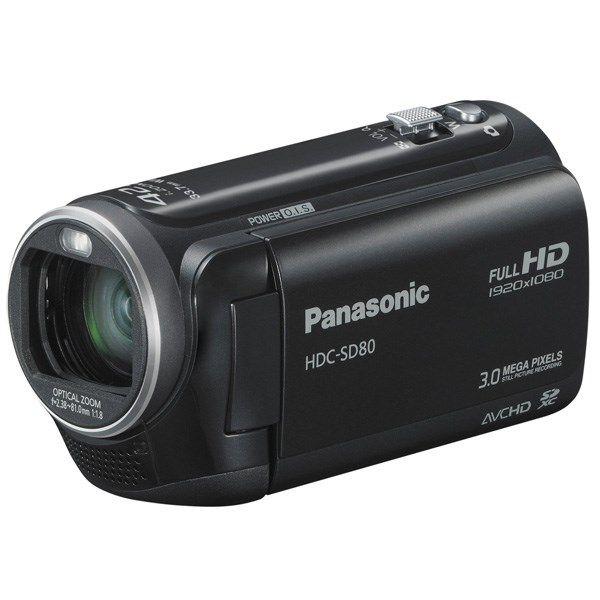 دوربین فیلمبرداری پاناسونیک اچ دی سی - اس دی 80