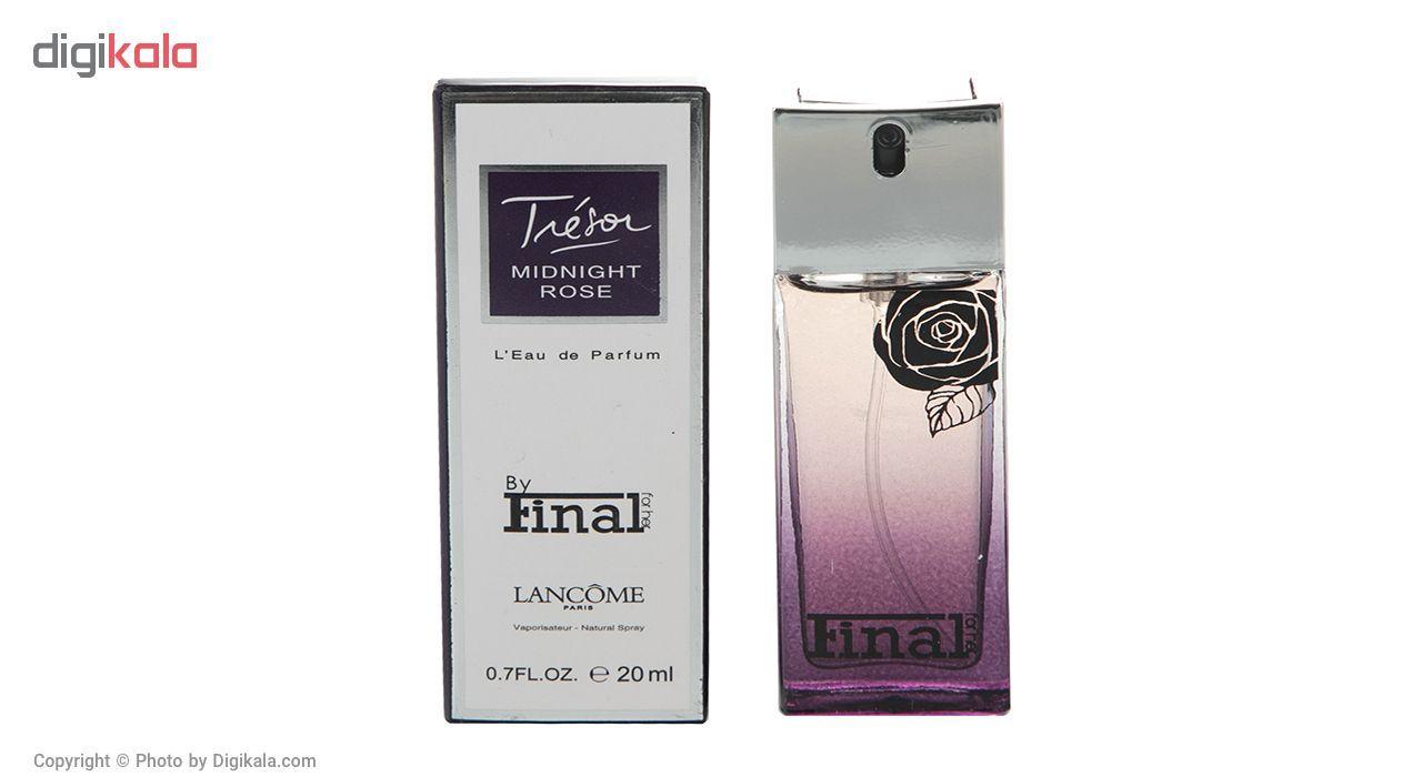 6c129d755 مشخصات، قیمت و خرید عطر جیبی زنانه فینال مدل Lancome Tresor Midnight Rose  حجم 20 میلی لیتر | دیجیکالا