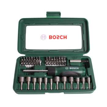 مجموعه 46 عددی پیچ گوشتی و سری پیچ گوشتی بوش مدل 2607019504