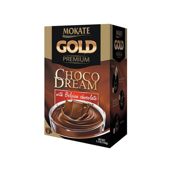 هات چاکلت شکلات بلژیکی موکات طرح Permium Gold بسته 8 عددی