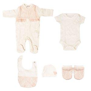 ست لباس نوزادی مدل 426241 Pink