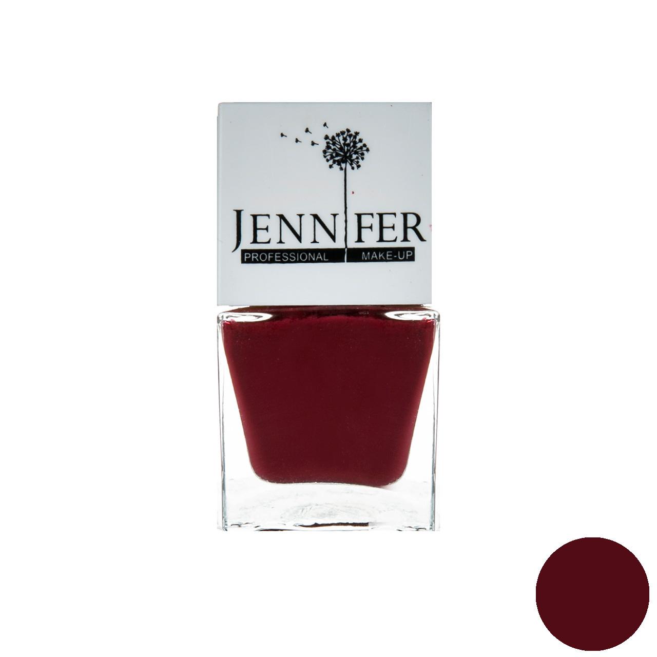 لاک ناخن جنیفر مدل JN شماره 34