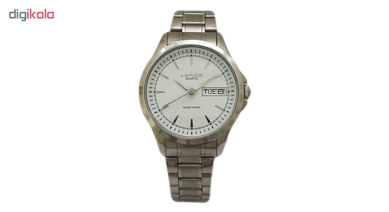 ساعت مچی عقربه ای مردانه لاروس مدل0817-79839-dd