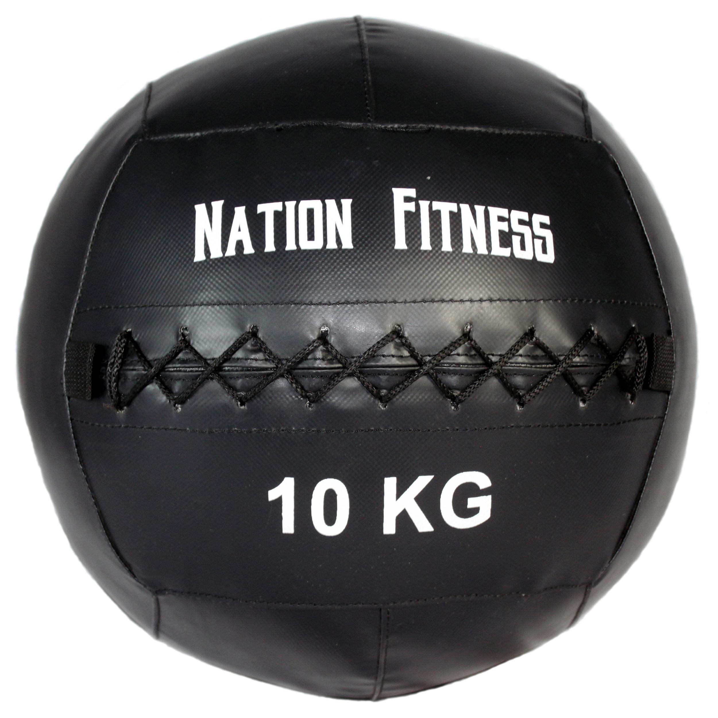 توپ وال بال نیشن فیتنس مدل Brutal وزن 10 کیلوگرم