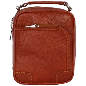 کیف دوشی رویال چرم مدل W56-Brown