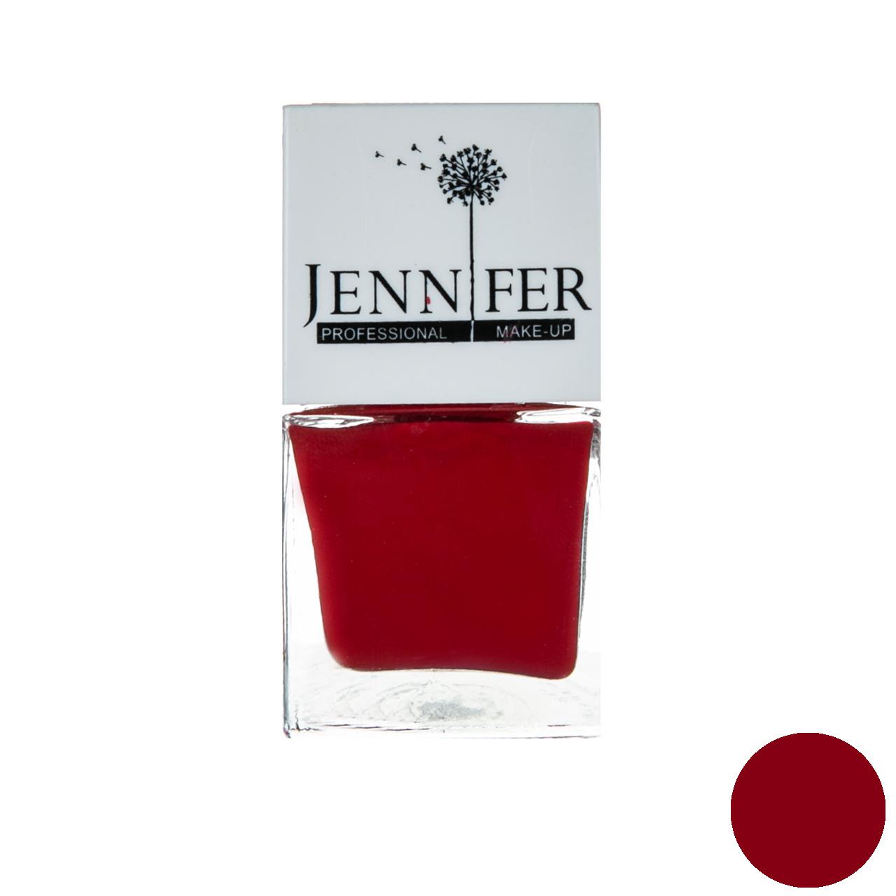 لاک ناخن جنیفر مدل JN شماره 35