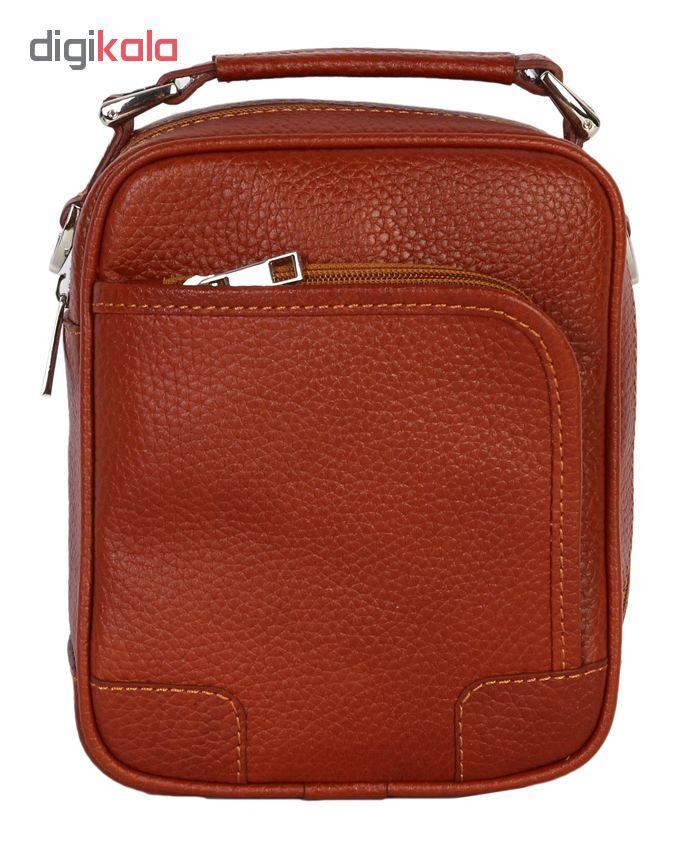 کیف دوشی رویال چرم مدل W56-Brown main 1 1
