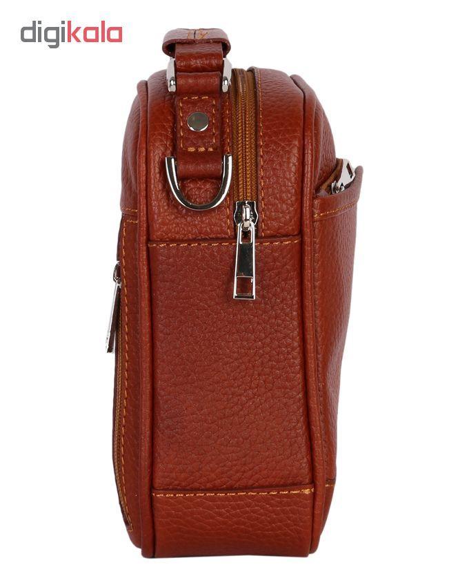 کیف دوشی رویال چرم مدل W56-Brown main 1 2
